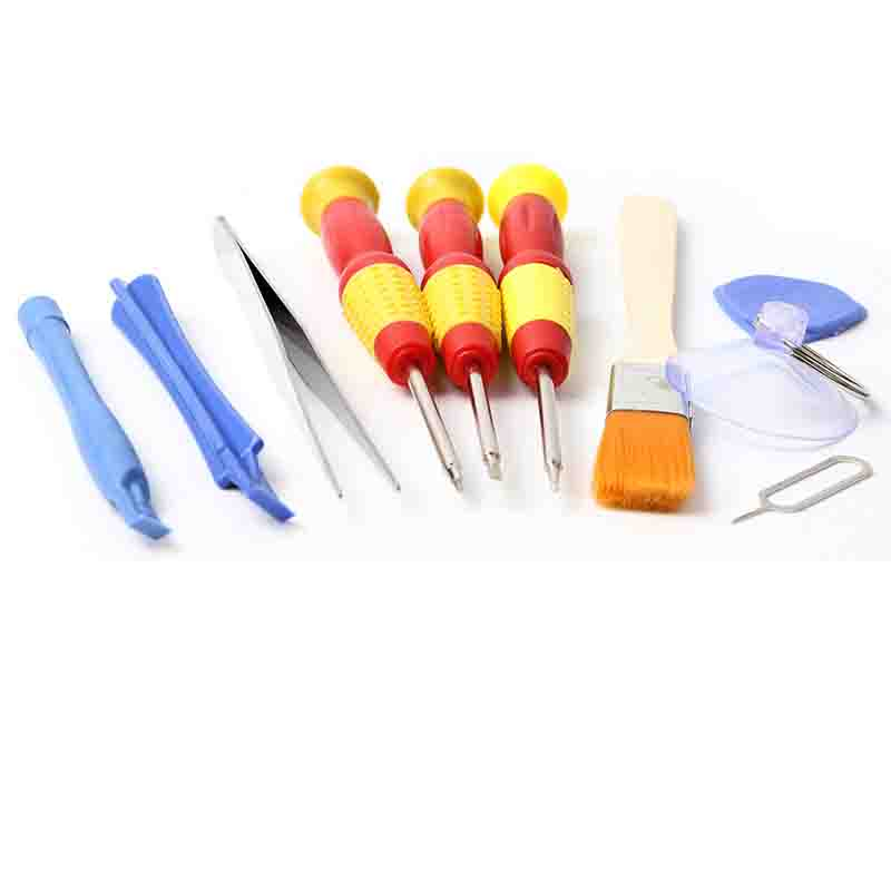 10in1 Mobile Cell Phone Screen Opening Repair Tools Kit Screwdriver Plier Pry Disassemble Tools set For Samsung iPhone 6 6S 7 8 in Hand Tool Sets from Tools