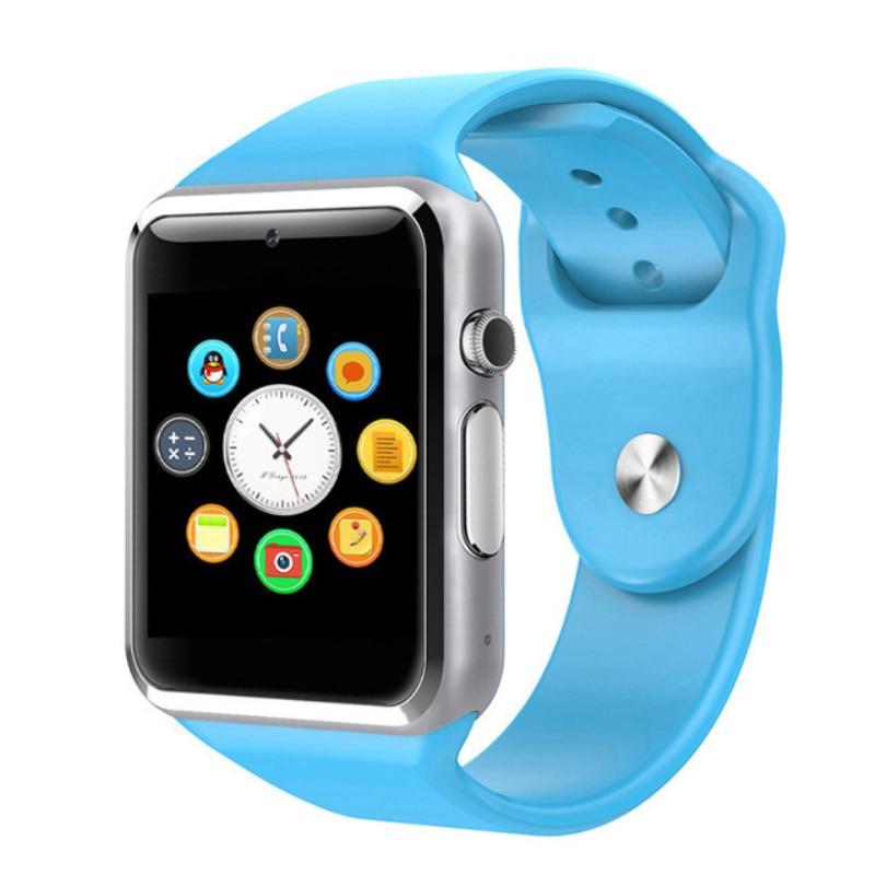 A1 moda mężczyźni i kobiety inteligentny zegarek urządzenie do - Męskie zegarki - Zdjęcie 5