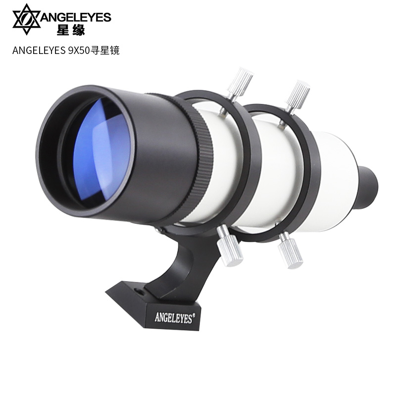 Angeleyes 9x50 Finder Scope 9X Magnification Finderscope Riflescopes Sight Cross Hair Reticle Telescope Astronomic Accessories