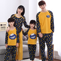 Correspondência da família Roupas Mãe Mulheres Menina Crianças Primavera Outono Pijama Pai Mãe Do Bebê Criança Pijama Família Combinando Roupas MM91
