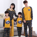 Family Matching Outfits Baby Mom Women Girl Kids Spring Fall Pajamas Mother Father Child Pajamas Family Matching Clothings MM91
