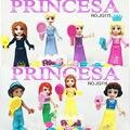 8 шт. Друзья Music Party Действий Мини Рисунках Строительный Блок цифры Подарок Игрушки Совместимость Legoe Принцесса Друзья Для Девочки