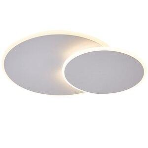 Image 5 - Plafonnier led rotatif ultramince au design moderne, luminaire dintérieur, luminaire dintérieur, luminaire décoratif de plafond, idéal pour une allée, un couloir ou une chambre à coucher