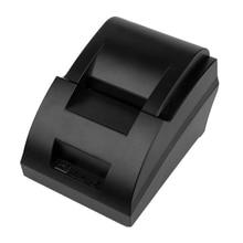 USB Mini 58mm POS Thermal Dot Receipt Invoice Printer Set Roll Paper POS-5890C