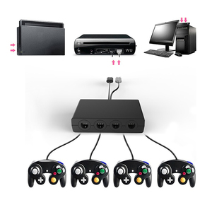 Image 1 - HAOBA 4 Ports Controller for GC Cube for Wii U PC USB Game Controller  for Ninten Switch