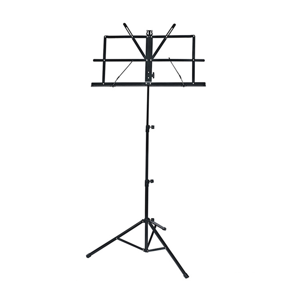 Music Stand  Foldable Music Sheet Tripod Stand Metal Music Stand Holder Height Adjustable Musical Instrument