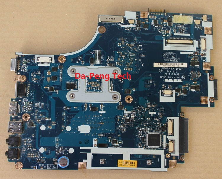KEFU Original Motherboard FOR ACER 5551G 5552 5552G 5551 LAPTOP MBWVF02001 LA-5912P 100% Test Ok