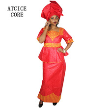 african dresses for women 2016 NEW FASHION DESIGN AFRICAN TRADITIONAL  CLOTHES 100% COTTON BAZIN EMBROIDERY f5bc5ff4c5bc
