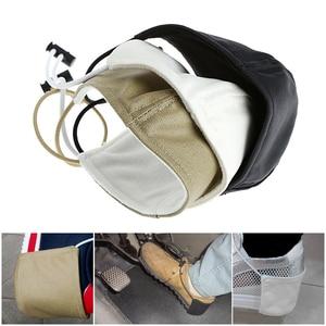 Image 2 - 1Pc בד רכב נהיגה למנוע ללבוש נעלי העקב הגנת כיסוי