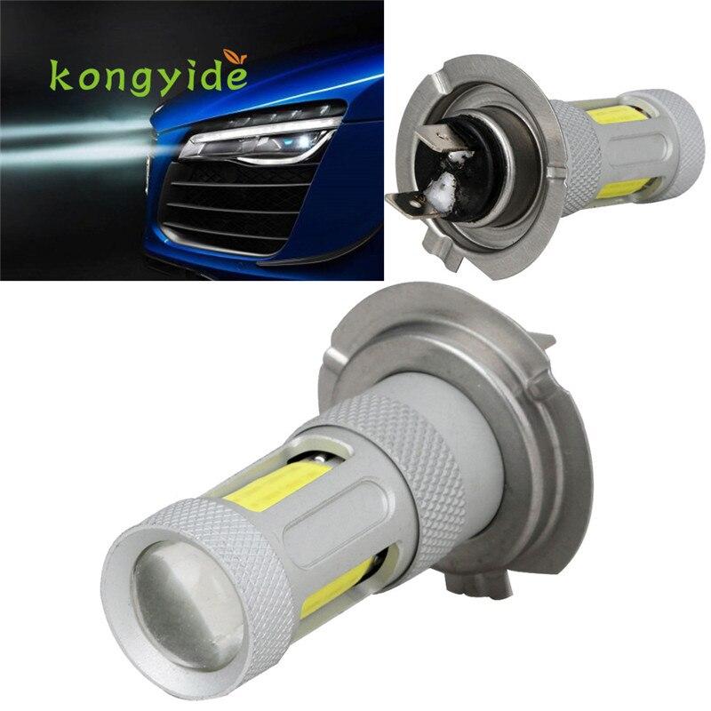2x H7 High Power COB LED Car Fog HeadLight Driving Lamp DRL Bulb White 80W  ligero Luz new hot drop shipping 17july6