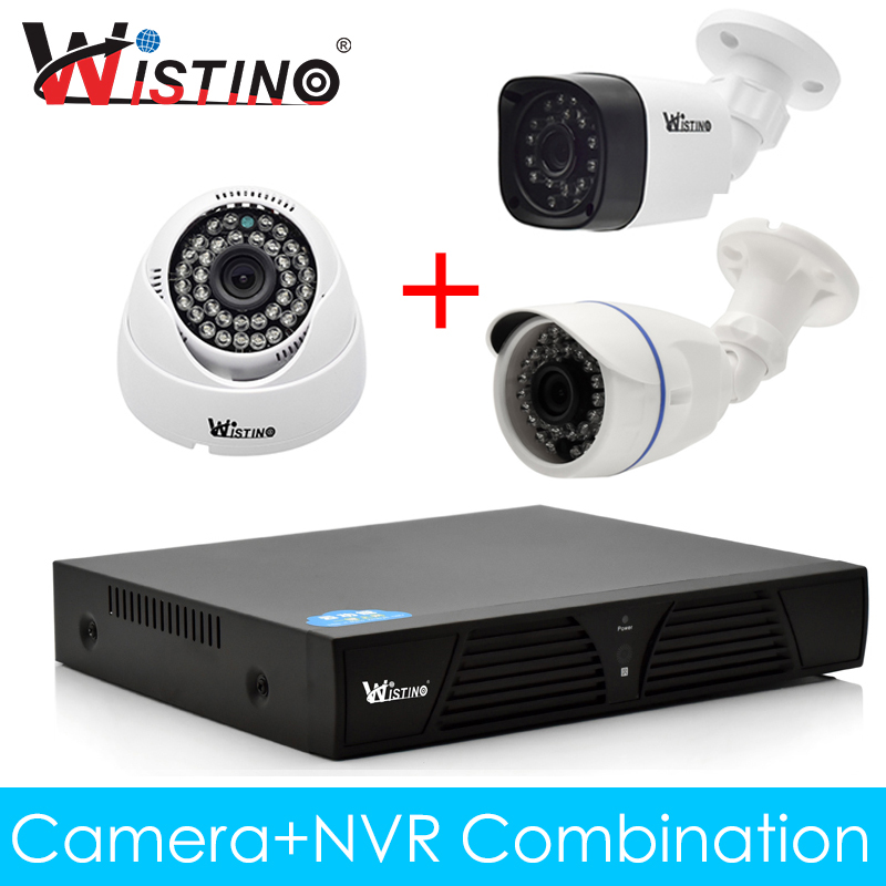 Wistino CCTV IP Camera Kit NVR Kits XMeye Outdoor 720P 960P 1080P Home Surverillance Video Security System Monitor Night Vision wistino cctv bullet ip camera xmeye waterproof outdoor 720p 960p 1080p home surverillance security video monitor night vision
