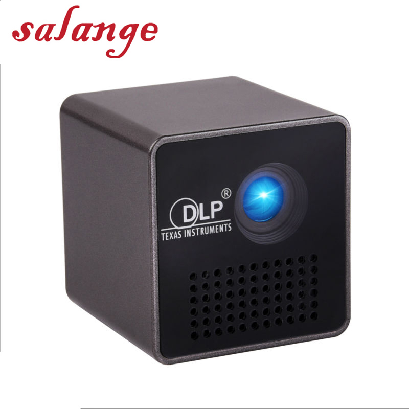 P1 P1+ Pico Projector Pocket WIFI Wireless DLP Build-in Battery with TF slot 3.5mm earphone Home Theater Micro video beamer