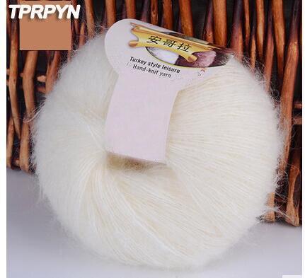 TPRPYN 250g = 10 stücke Garn Für Stricken Mohair Wolle Stricken ...