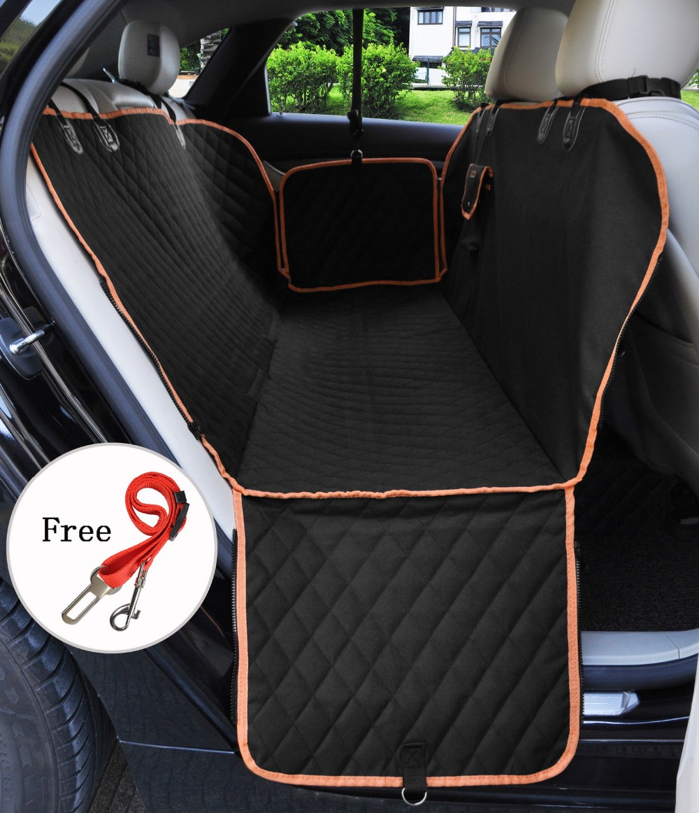 Dog Car Seat Cover Hammock Style Velcromag