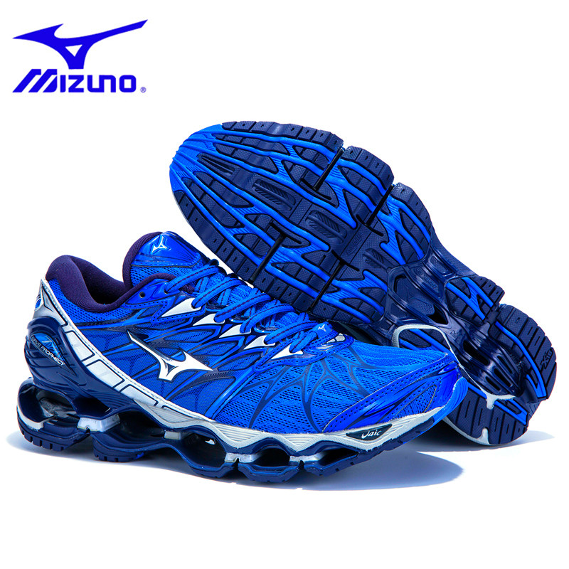 Mizuno Wave Prophecy 7 Professional Running Shoes Breathable Cushioning Sport Basketball Shoes 7 colors LightWeight Men SneakersMizuno Wave Prophecy 7 Professional Running Shoes Breathable Cushioning Sport Basketball Shoes 7 colors LightWeight Men Sneakers
