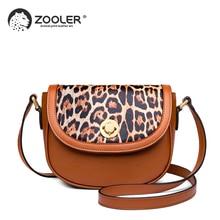 ZOOLER genuine leather Bag for women 2019 new cross body bag purse designer woman messenger bag Leopard fashion tote bag JH206 sales zooler 2017 new designed woman bag 100