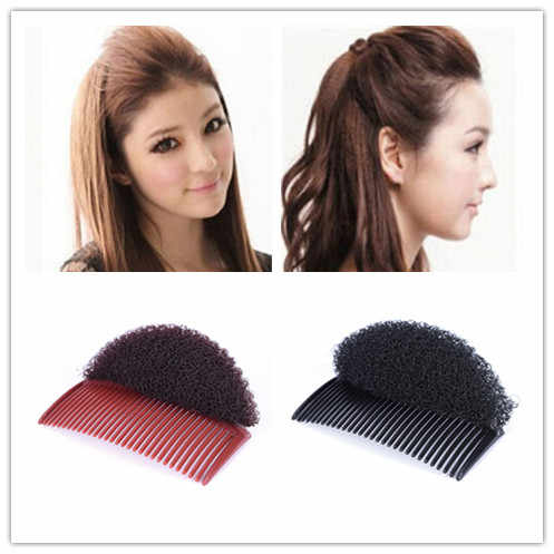 Black Coffee Hair Clip Stick Bun Maker Braid Beauty Tool Hair Comb Accessories s