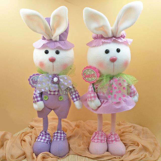 Featival easter party gift for kids doll plush toy rabbit cute elf featival easter party gift for kids doll plush toy rabbit cute elf couple creative beauty rabbit negle Images