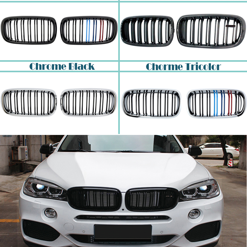 Painted BMW X6 F16 F86 5D Performance Trunk Spoiler Wing xDrive 2016up ABS