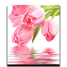 Flower Full of Diamonds Painting Diamond Diy Embroidery 3d Square Mural Mosaic Arts and Crafts