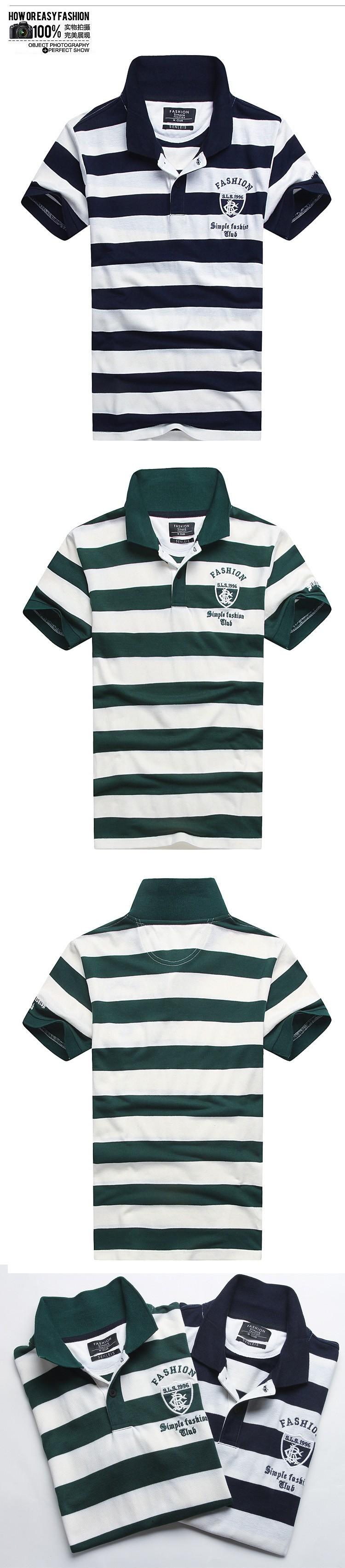 Slim Fit Mens Polo Shirt Brandsmens Designer Polo Shirtsstriped