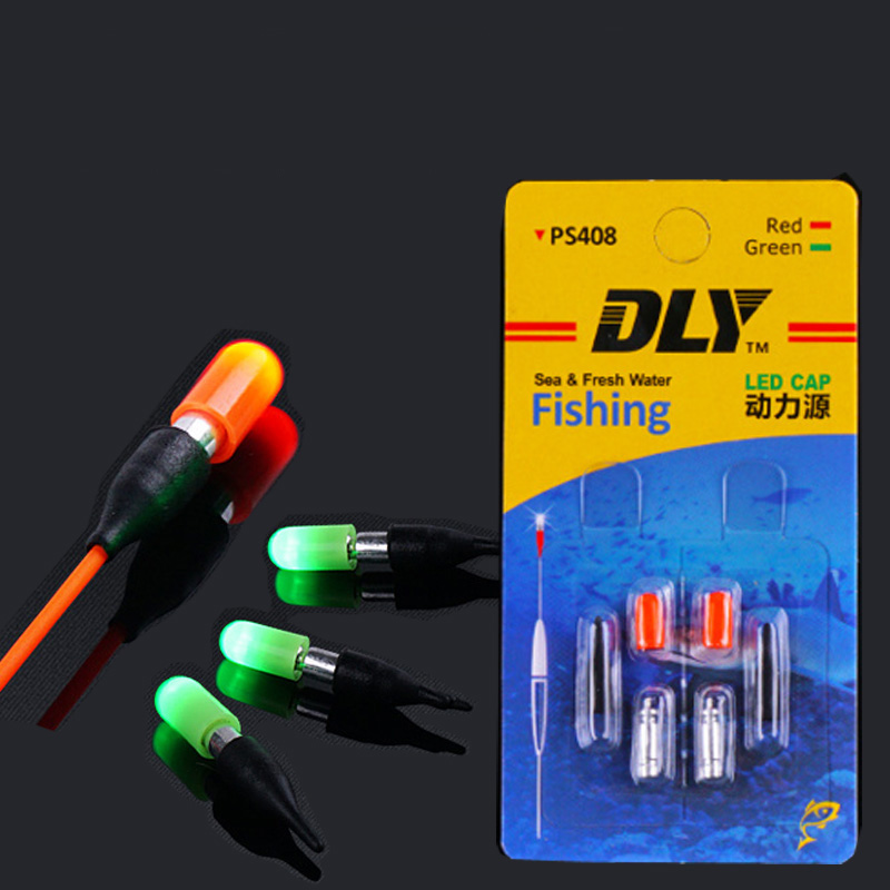 100pcs CR311 Electronic Fishing Float Battery Set Night Fishing Electronic Luminous Float Lightstick Dark Glow Stick