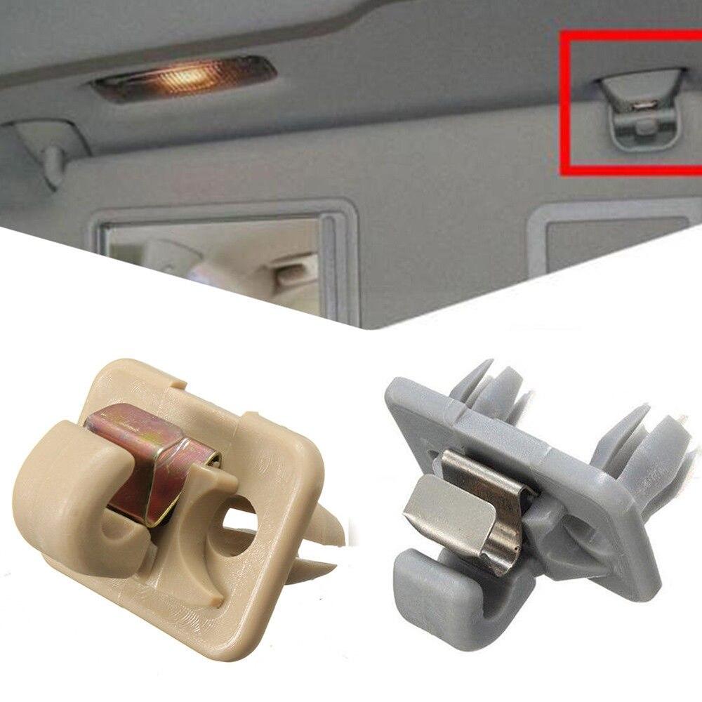 Sunvisor Clip soporte de gancho de clip para visera interio