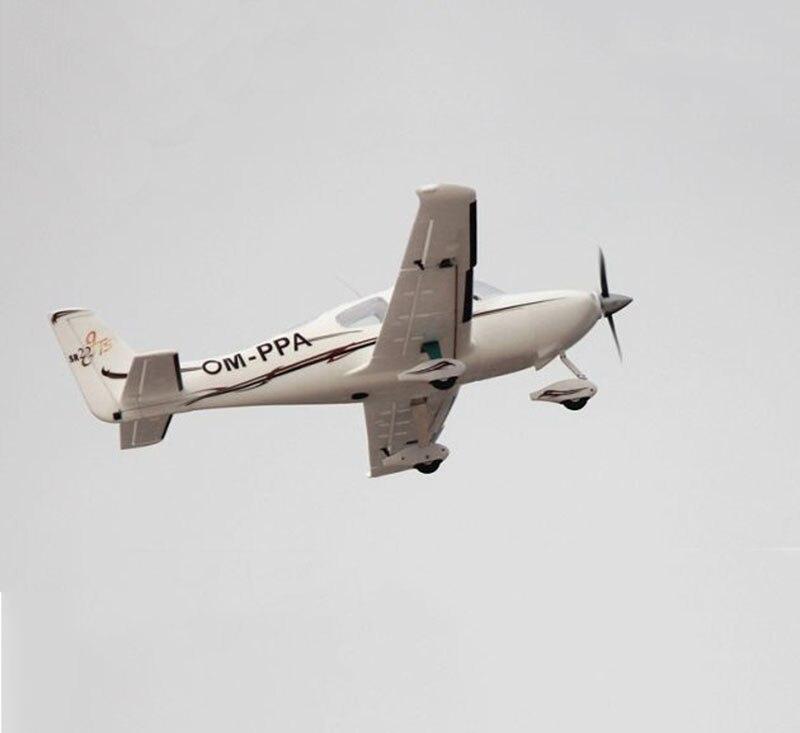 Dynam 1400MM SR22 RC PNP/ARF Propeller Plane W/ Motor ESC Servos W/O Battery TH03706