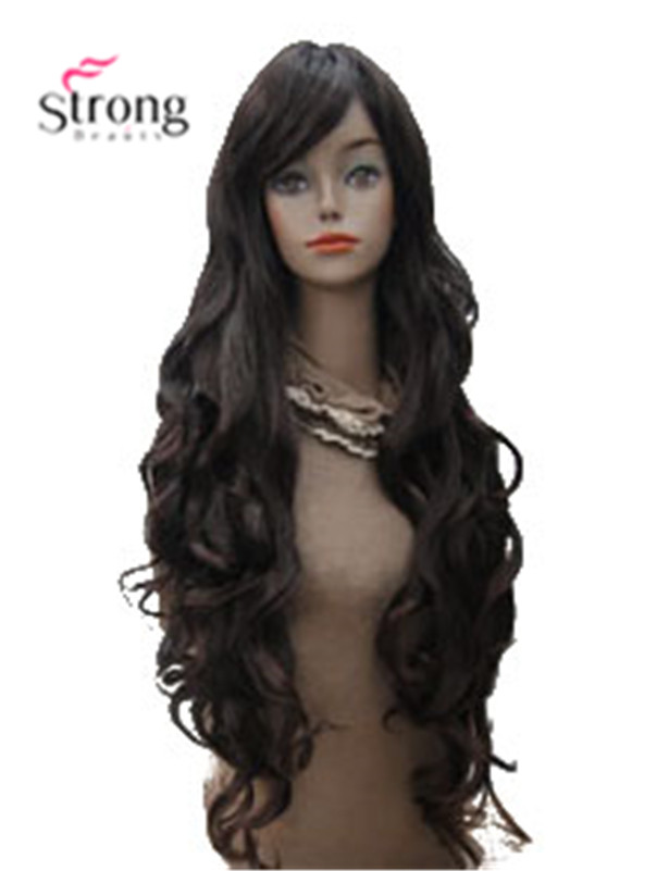X-Long Thick Wavy Full Synthetic Wig Womens Wigs