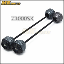 Free shipping For KAWASAKI Z1000SX 2011-2015 CNC Modified Motorcycle Front and rear wheels drop ball / shock absorber baja 5b parts cnc 8mm alloy rear shock absorber free shipping 95223