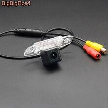 цена на BigBigRoad Car Rear View Parking CCD Camera For Volvo S40 S60 S80 V60 S80L S60L S40L V70 XC70 XC 70 V40 C70 Night Vision