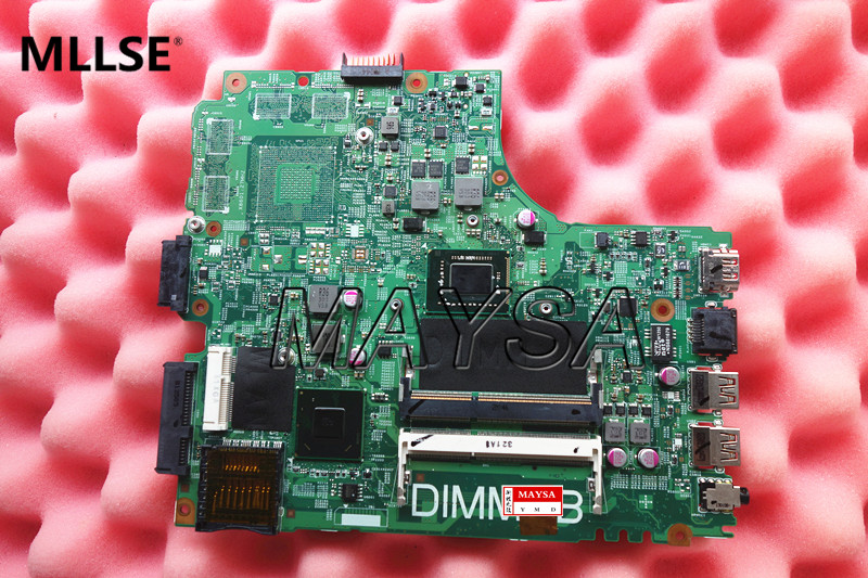 Latop Motherboard Fit For DELL 14R 3421 5421 Series Notebook PC PWB 5J8Y4 CN-05HG8X 05HG8X with I3-3217 CPU, 100% working cn 0ptnpf 0ptnpf ptnpf main board for dell inspiron 3421 5421 laptop motherboard 1017u cpu ddr3