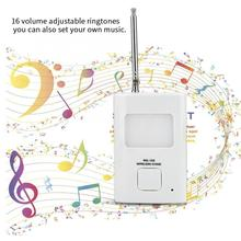 лучшая цена DC 4.5V Wireless Infrared Doorbell Alarm PIR Monitor Sensor Motion Detector Entry Door Bell Security Doorbell For Shop Entry Hot