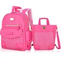 2016New Hot Sale Waterproof Kid School Backpack Fair Maiden Boy Children Primary Kid School Students Girl High-quality PU Z353