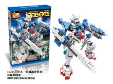 LOZ 9352 SEED DESTINY Mobile Suit Gundam  Educational Diamond Bricks Minifigures Building Block Best Toys Compatible with Legoe