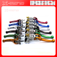 Aluminum ASV Color Folding Brake Clutch Levers For Pit Bike Dirt Bike Motocross Motorcycle Atv