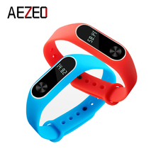 AEZEO mi band 2 Equipment Pulseira Miband 2 Strap Substitute Silicone Wriststrap for Xiaomi Mi2 Good Bracelet Wrist Band