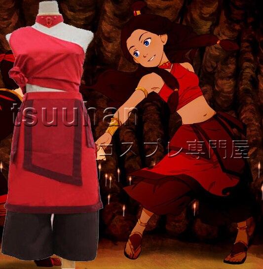 free shipping avatar the last airbender katara cosplay costume sc 1 st aliexpresscom