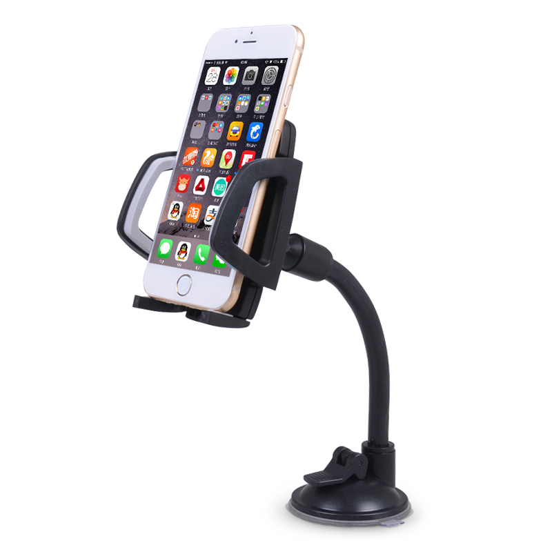 On click quick phone holder car stand mobile support for iphone huawei samsung xiaomi oneplus universal phone accessories parts