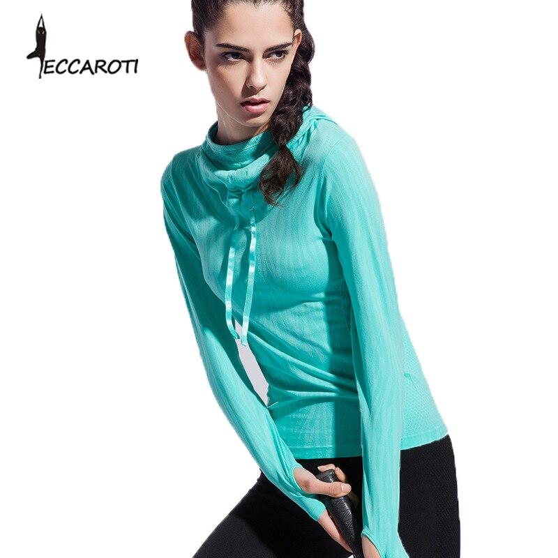 Women Workout Top Hoody Gym T Shirts Fitness Clothing Sport Sweatshirts -4384