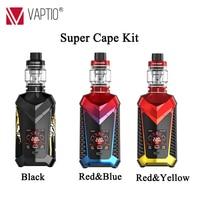 Новый комплект испарителя Vaptio супер накидка vape 220 Вт комплекты электронных сигарет 8,0 мл заполнение верхней части емкости 1,3 дюймов HD цветно