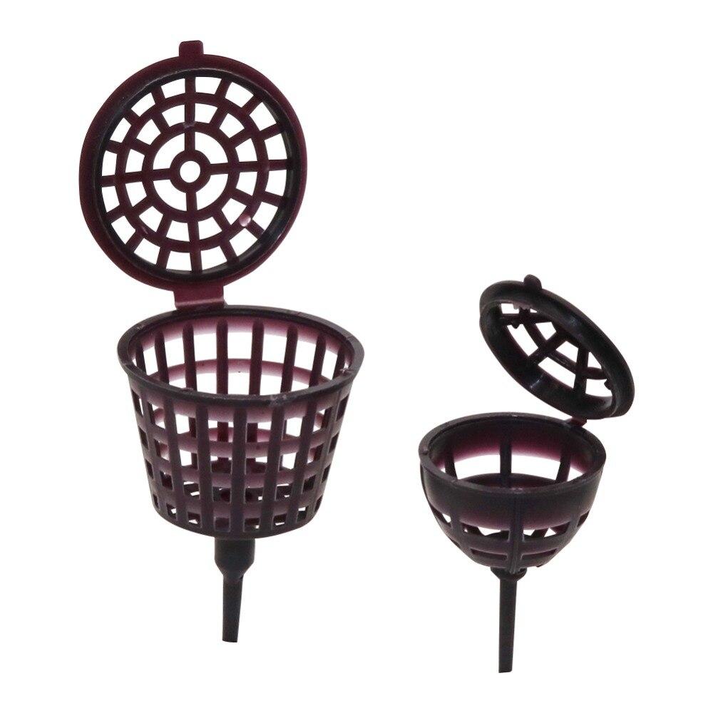 Fertilizer Box Bonsai Tool Fertilizer Cover Basket Box Dome Case Plastic Plant Bug Portable Nursery Pots 10 Pcs