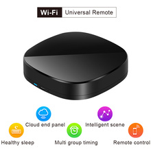 цена Universal Intelligent WiFi Smart Controller Smart Home Wireless WiFi IR Switch Remote Control for Air Conditioner TV for Alexa онлайн в 2017 году