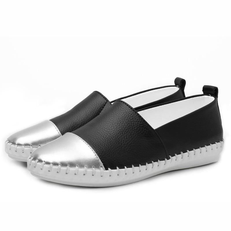 YIQITAZER 2018 New Summer Slipony Lofer Womens shoes Flats 48ac04b4ede9