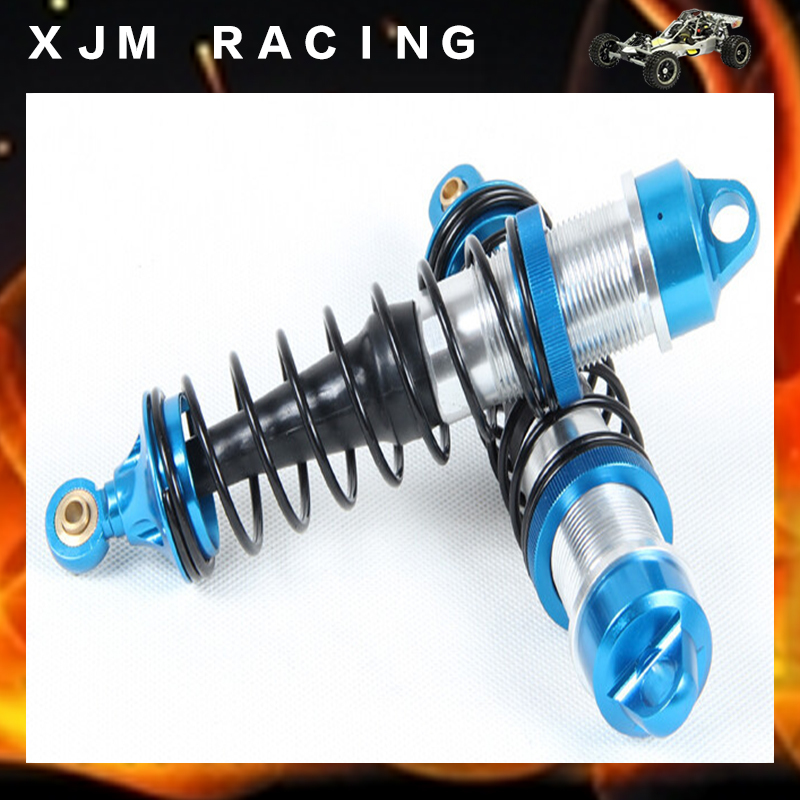 Rc Car CNC metal rear absorber shock set fit rovan LT losi 5ive-T parts losi 5ive t hd billet rear hub carriers