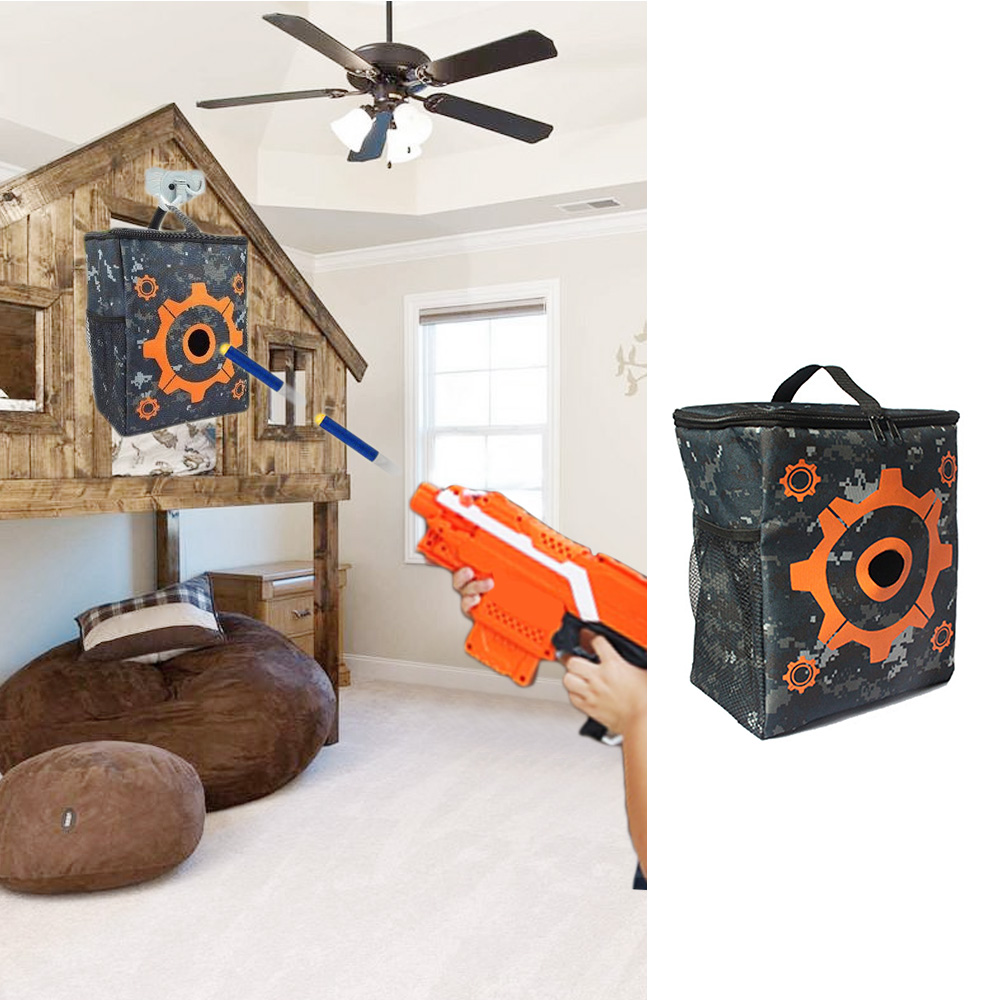 Target Pouch Storage Carry Equipment Bag Refill Clip Darts Bullets Bag Case  for Nerf N-strike Toy Gun Elite Mega Rival Series f3f8316dd