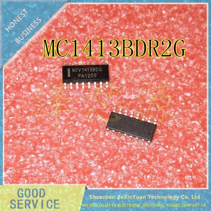 20PCS/LOT  MC1413BDR2G MC1413BDG MC1413BD MC1413B MC1413 SOP-16 HIGH VOLTAGE HIGH CURRENT DARLINGTON TRANSISTOR ARRAYS