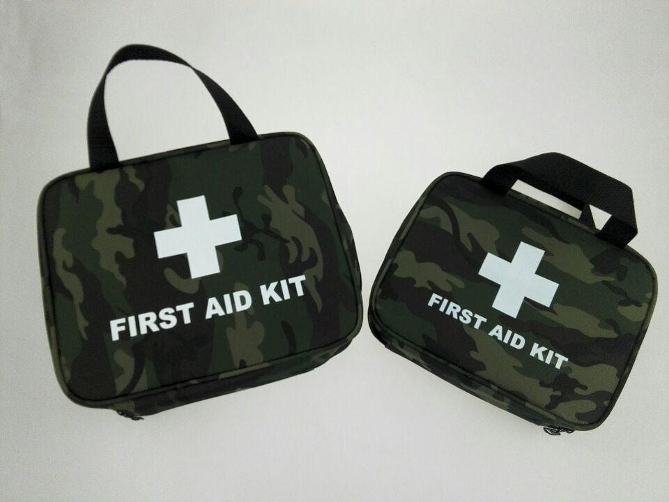 Empty Bag for Emergency Kits Safe Survival Travel First Aid Kit Outdoor Wilderness Camping Hiking Medical Pack Set M L size outdoor tactical emergency medical first aid pouch bags survival pack rescue kit empty bag