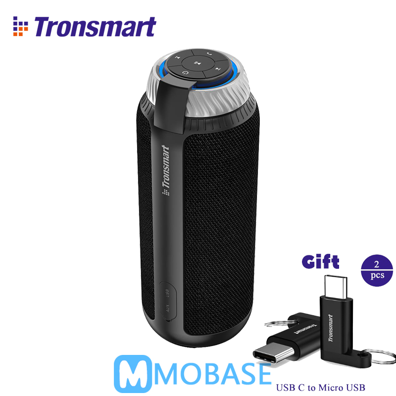 Tronsmart T6 Altavoz Bluetooth inalámbrico portátil Mini altavoces columna de regalo subwoofer Soundbar receptor de Audio AUX gran potencia vsM & J