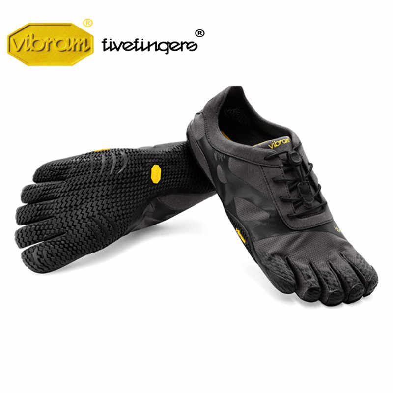 3eead1e91cb90d ... Vibram Fivefinger KSO EVO Men Mesh Sneakers Five Fingers Fast lacing  Slip Light Weight Running Indoor ...